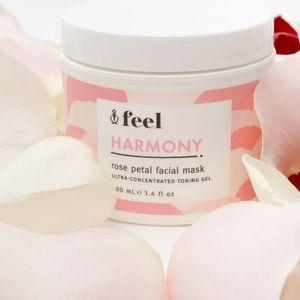 Feel Harmony Rose Petal Facial Mask